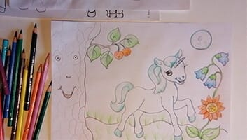 Draw Unicorns in the Enchanted Forest  - Thumbnail