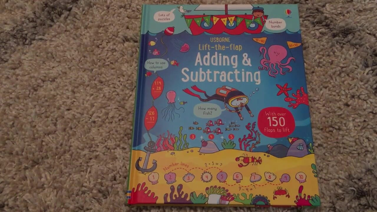 Lift the Flap Adding & Subtracting Review - thumbnail